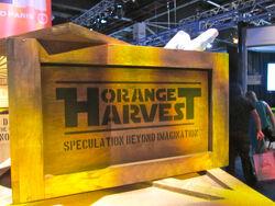 Orange Harvest crate