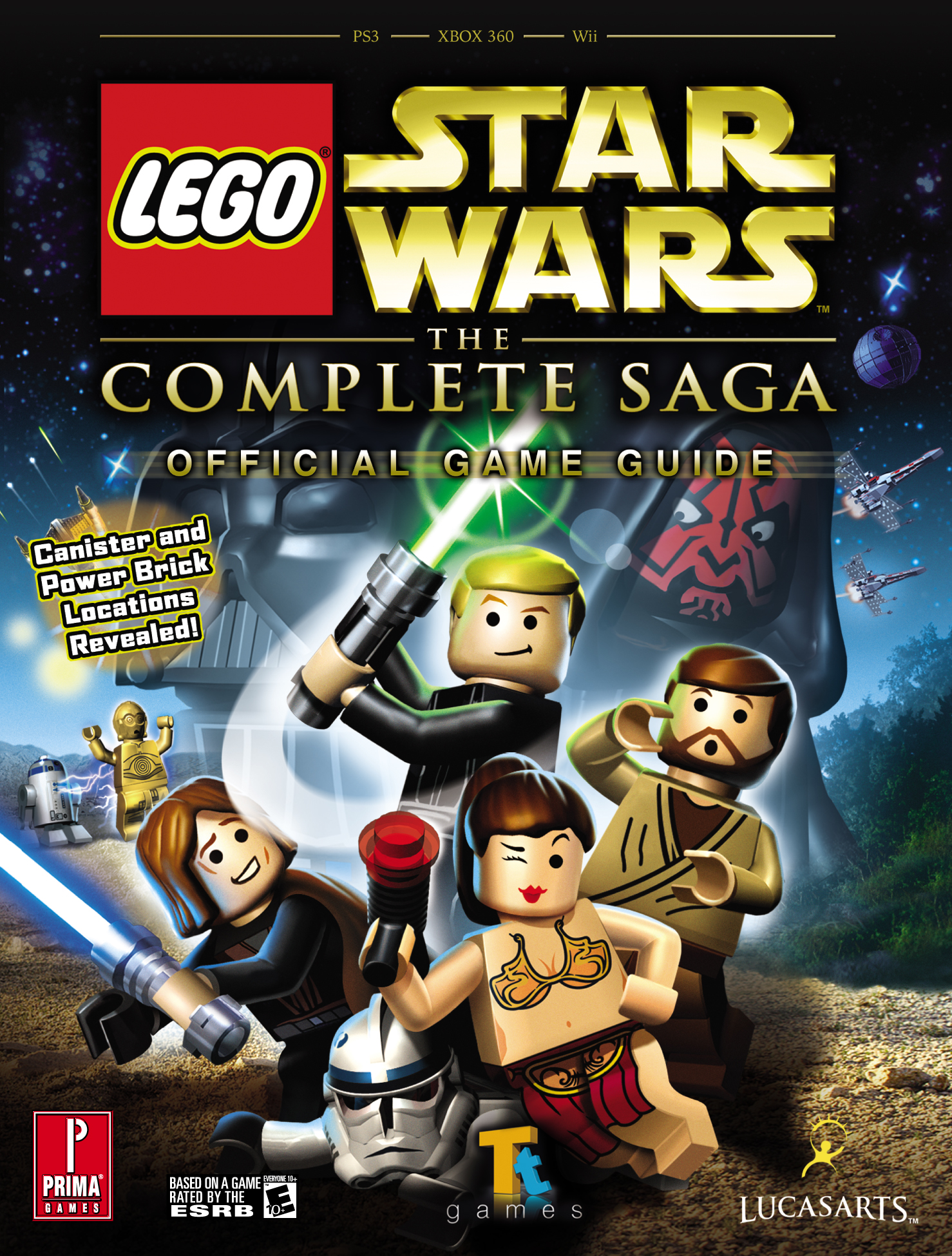 LEGO Star Wars: The Complete Saga: Prima Official Game Guide | Wookieepedia  | FANDOM powered by Wikia