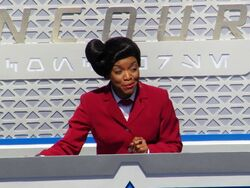 Angela spokeslady