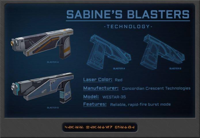 Sabine's Blasters