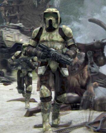 Clone scout trooper | Wookieepedia | Fandom