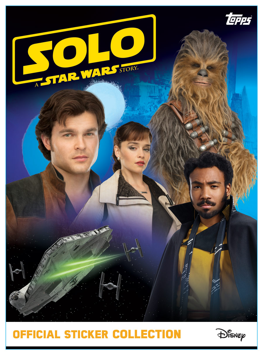 Solo A Star Wars Story Official Sticker Collection