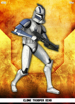 Clone Trooper Echo - Rank & File