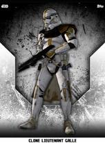Clone Lieutenant Galle - Rank & File