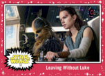 Leaving Without Luke - Journey to the Rise of Skywalker - Base - Learning Through Failure