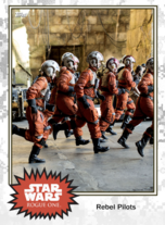 Rebel Pilots (scramble) - Base Series 4