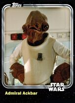 Admiral Ackbar - Rebel Leader - Base Series 1