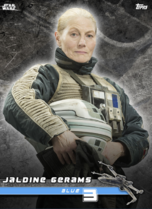 Jaldine Gerams (Blue 3) - Star Wars: Rogue One - Standing By