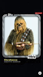 Chewbacca - Kashyyyk Warrior - Base Series 1