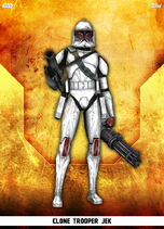 Clone Trooper Jek - Rank & File