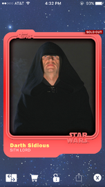 Darth Sidious - Sith Lord - Base Series 1