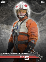 Cadet Pedrin Gaul (Red 5) - Star Wars: Rogue One - Standing By