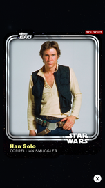 Han Solo - Corellian Smuggler - Base Series 1