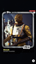 Bossk - Bounty Hunter - Base Series 1