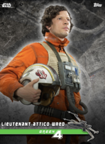 Lieutenant Attico Wred (Green 4) - Star Wars: Rogue One - Standing By