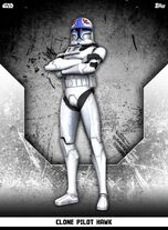 Clone Pilot Hawk - Rank & File