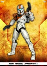 Clone Republic Commando Boss - Rank & File