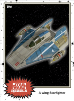 A-wing Starfighter - Base Series 4 - Rebels