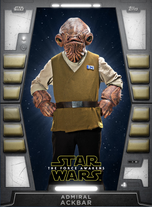 Admiral Ackbar - 2020 Base Series 2