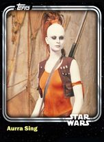 Aurra Sing - Bounty Hunter - Base Series 1