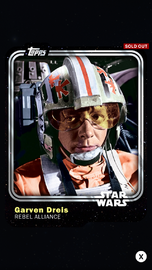 Garven Dreis - Rebel Alliance - Base Series 1