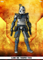 Clone ARC Trooper Fives - Rank & File