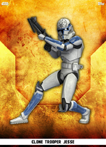 Clone Trooper Jesse - Rank & File