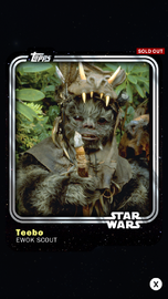Teebo - Ewok Scout - Base Series 1