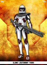 Clone Lieutenant Thire - Rank & File