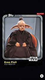 Even Piell - Jedi Master - Base Series 1