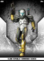 Clone Republic Commando Scorch - Rank & File