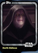 Darth Sidious - Sith Master - Base Series 1
