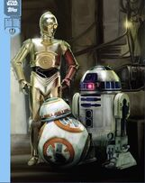 05 (The Droids BB-8, C-3PO & R2-D2) - Star Wars: The Force Awakens: Resistance vs First Order