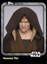 Saesee Tiin - Jedi Master - Base Series 1