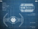 Darth Vader's TIE Fighter - Blueprints