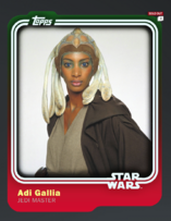 Adi Gallia - Jedi Master - Base Series 1