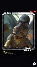 Watto - Junk Dealer - Base Series 1