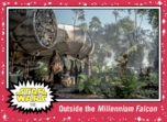 Outside the Millennium Falcon - Journey to the Rise of Skywalker - Base