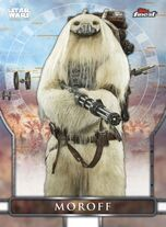 Moroff - Topps Finest 2019 - Rogue One