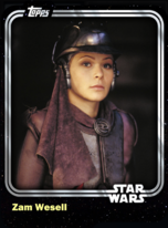Zam Wesell - Bounty Hunter - Base Series 1