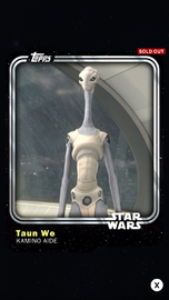 Taun We - Kamino Aide - Base Series 1