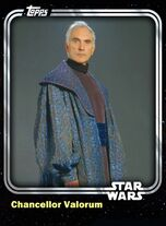 Chancellor Valorum - Galactic Republic - Base Series 1