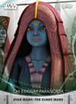 Chi Eekway Papanoida - Topps' Women of Star Wars