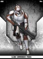 Clone Commander Ponds - Rank & File