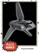 Imperial Shuttle - Base Series 4 - Rebels