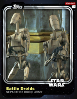 Battle Droids - Separatist Droid Army - Base Series 1