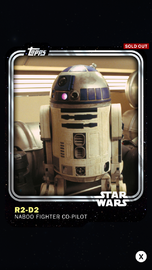 R2-D2 - Naboo Fighter Co-Pilot - Base Series 1