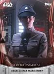 Officer Sharest - Topps' Women of Star Wars