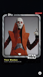 Tion Medon - Port Administrator - Base Series 1