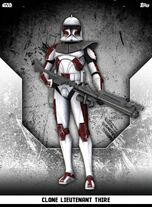 Clone Lieutenant Thire - Rank & File